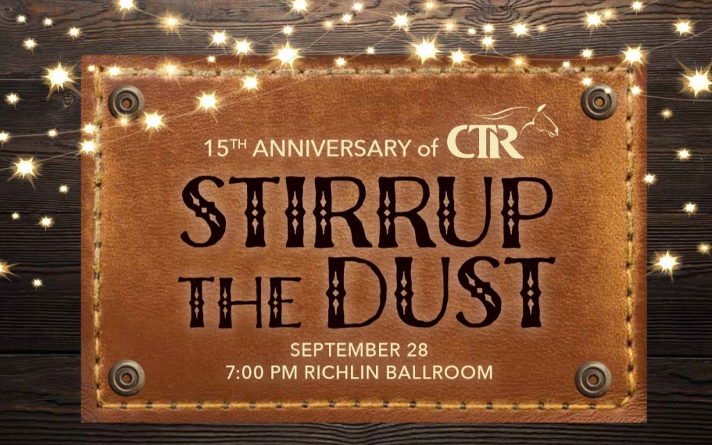Stirrup the Dust 2018 banner